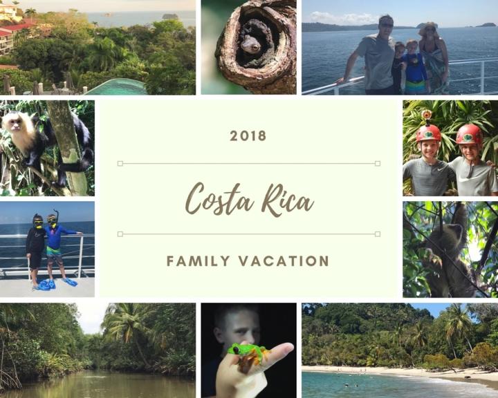 Family Trip Costa Rica Spring Break