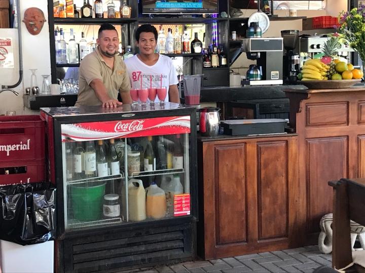 Local food in Costa Rica